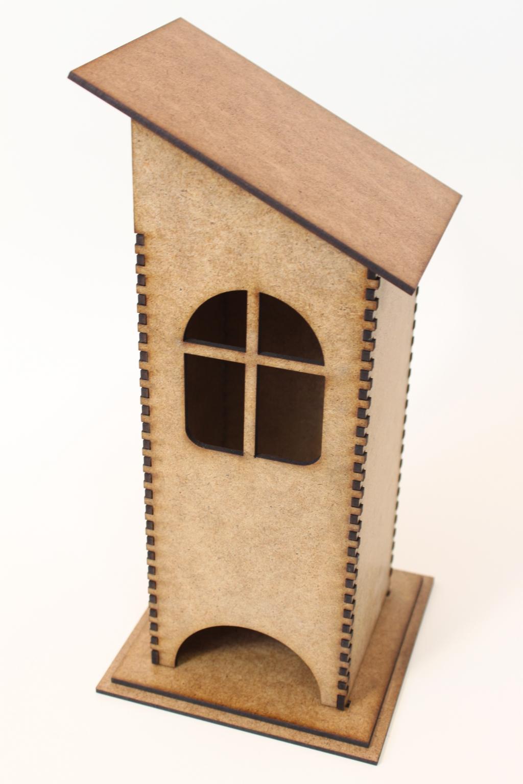Размеры чайного домика из картона своими руками